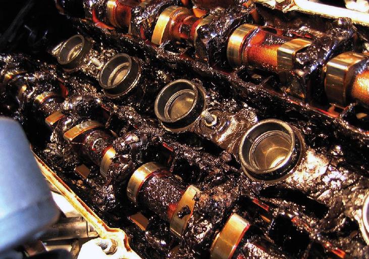 Os motores modernos e a formação da Borra Negra